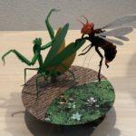 リアルな魚や昆虫の模型が作れるペーパークラフト 【3D立体ペーパーパズル】