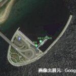 淡路島・翼港の釣り場の水深を測定! -釣行時の参考情報-
